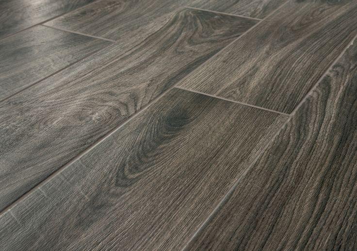 Full-body porcelain wood tiles bio timber - oak grigio scuro - Lea Ceramiche