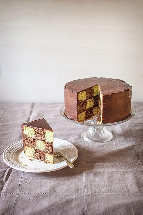 TécnicaCómo hacer una tarta de ajedrez