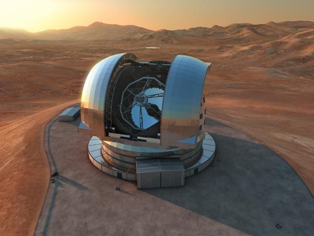 Tecnoentrenos: Construirán el telescopio óptico más grande del mu...