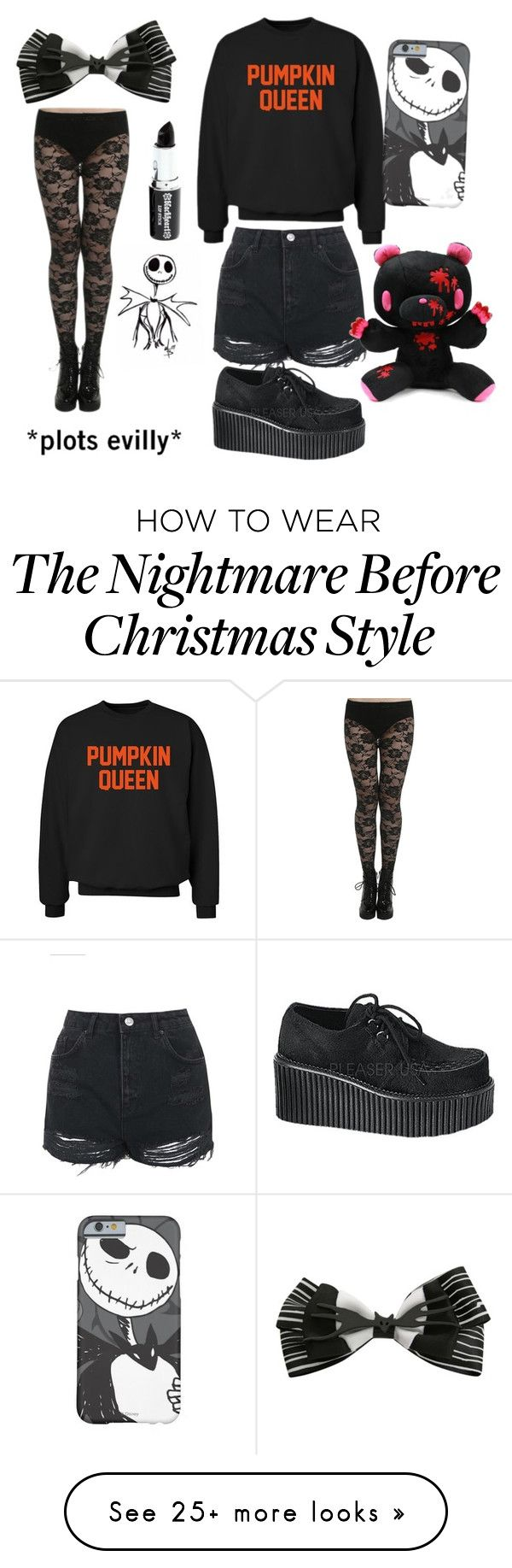 """""""THIS IS HALLOWEEN"""" by callingallhustlers on Polyvore featuring Topshop, CO, Retrò, Demonia and E.vil"""