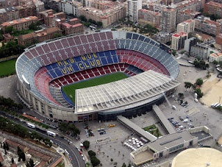 so we'll be going to the Camp Nou of course
