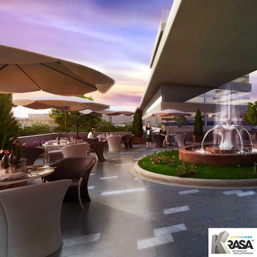 Food Court | Centrade Business Park NOIDA