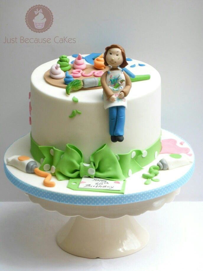 Birthday Cake for a Painter
