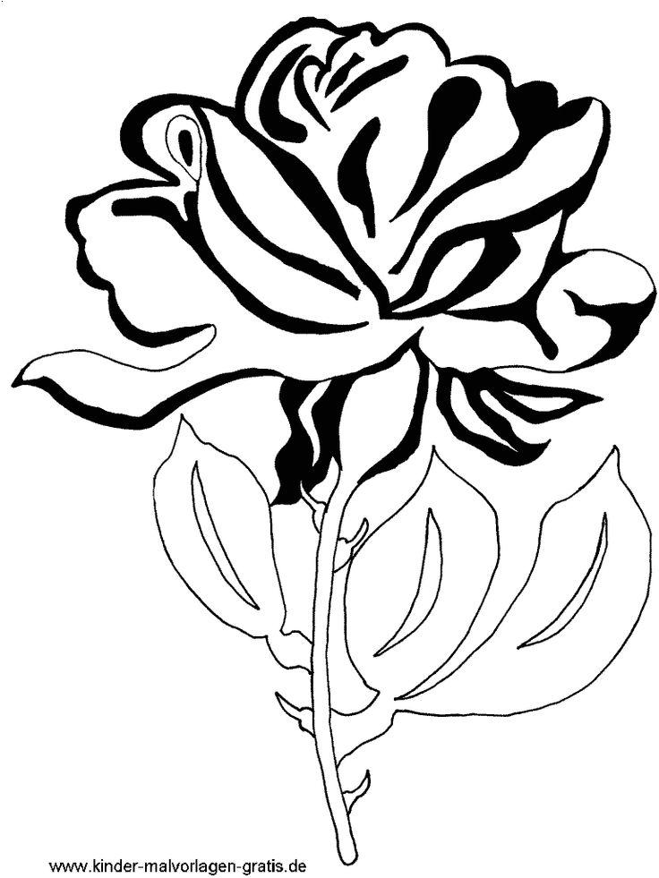 Mandala zum Ausdrucken Blumen