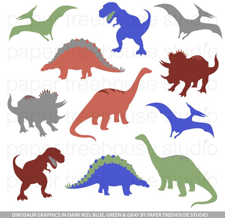 17 Best images about * Dinosaurs Silhouettes, Vectors, Clipart ...