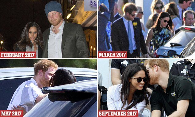 Milestones of a whirlwind romance July 2016: The couple are introduced by mutual friend Markus Anderson at Soho House in London.