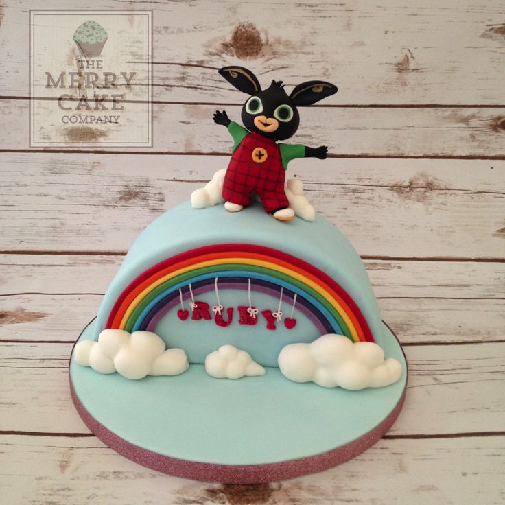 How To Make A Bing Bunny Cake Topper