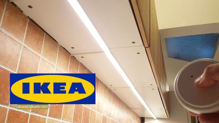 Ikea Schrank Für Geschirrspüler ~ IKEA Kitchen Lighting OMLOPP  How to Install Countertop Led Light