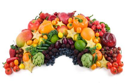 Um Arco-íris de Nutrientes