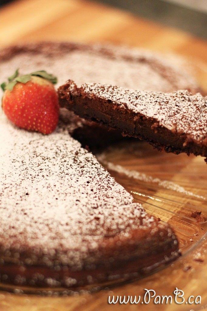 bolo de nutella sem farinha