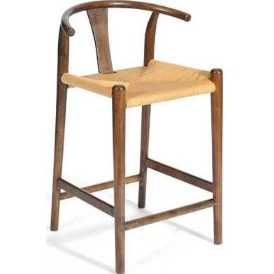 Kitchen Counter Stools Wood And Rush Seats Kitchen Bar