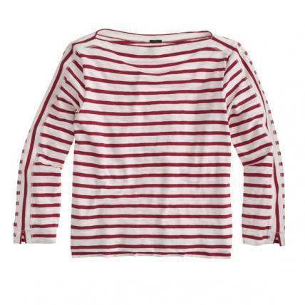 Striped sweater, jcrew.com #InStyle