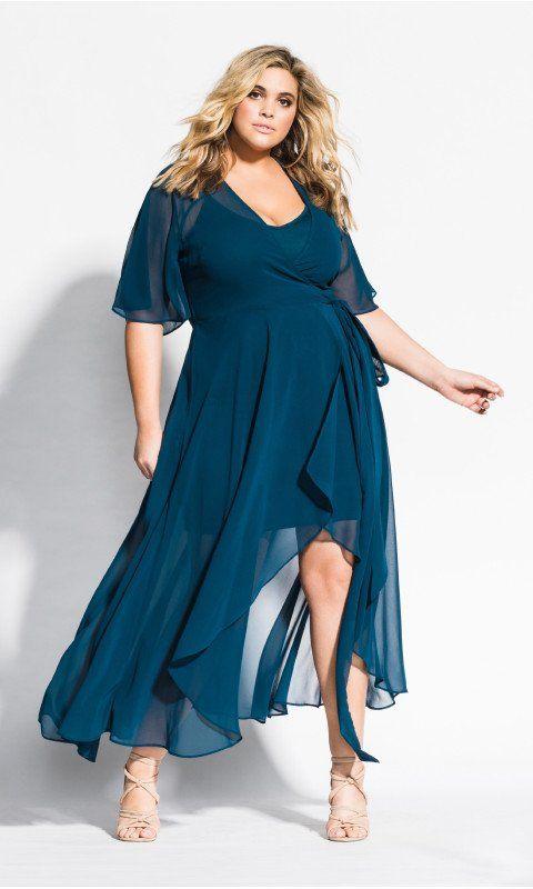 Enthral Me Maxi Dress - Petrol | Kristina Yeo in 2019 ...