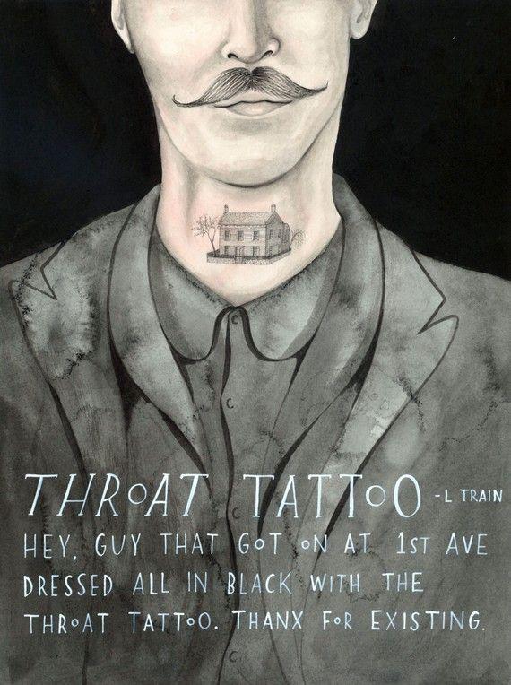 Tatuaje de garganta