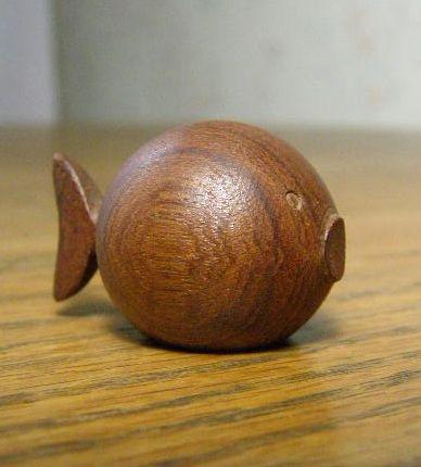 Mid Century Modern Carved Wood Fish - Made in Denmark - Kay Bojesen | eBay - I love this fish!