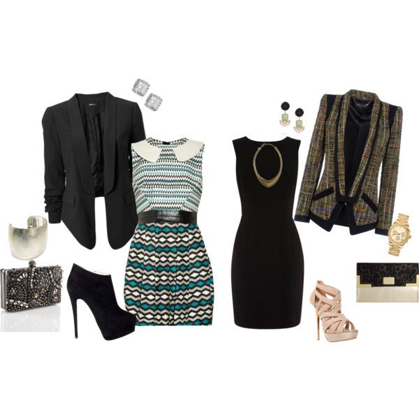 Fall wedding. What to wear. Two Belles Event Planning. For more inspiration, visit http://twobellesevents.wordpress.com/2012/10/12/blazers-for-fall-wedding/