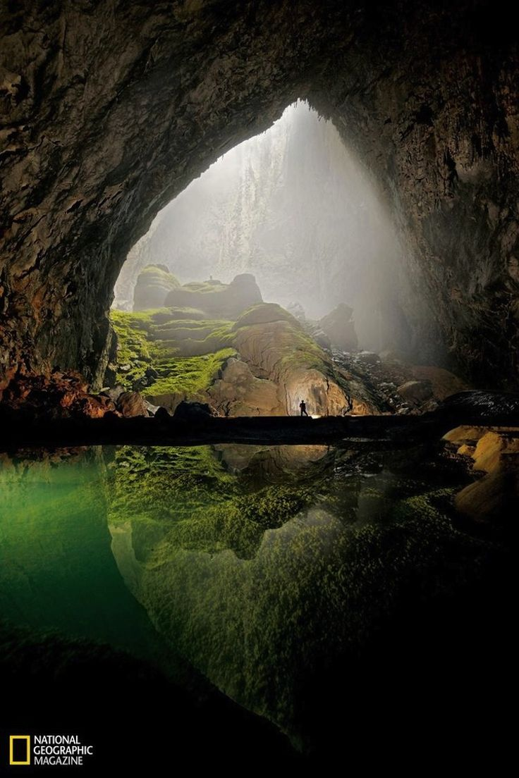 Son Doong Cave - World largest cave with its own forest inside and it's tall enough to fit a skyscraper!