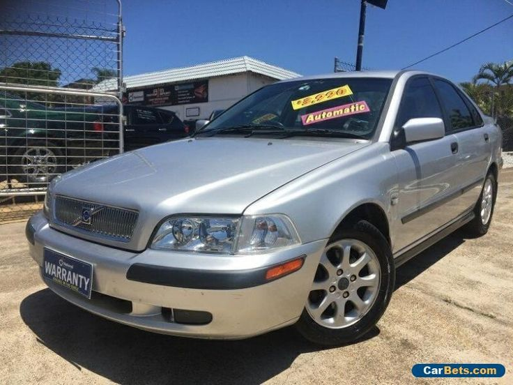 2001 Volvo S40 MY01 T4 SE Silver Frost Automatic 5sp A Sedan #volvo #s40 #forsale #australia