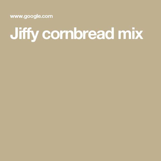 Jiffy cornbread mix