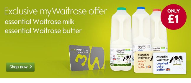 Waitrose coupons