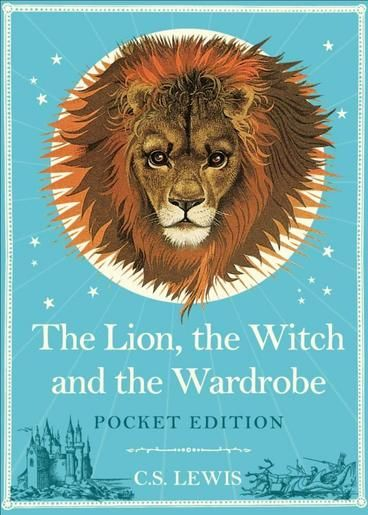The Lion, the Witch and the Wardrobe: Pocket Edition by C S lewis.  Lucy steps into the Professor's wardrobe but steps out again into a snowy forest. She's stumbled upon the magical world of Narnia, land of unicorns, centaurs, fauns! and the wicked White Witch, who terrorises all. Lucy soon realises that Narnia, and in particular Aslan, the great Lion, needs her help if the country's creatures are ever going to be free again.