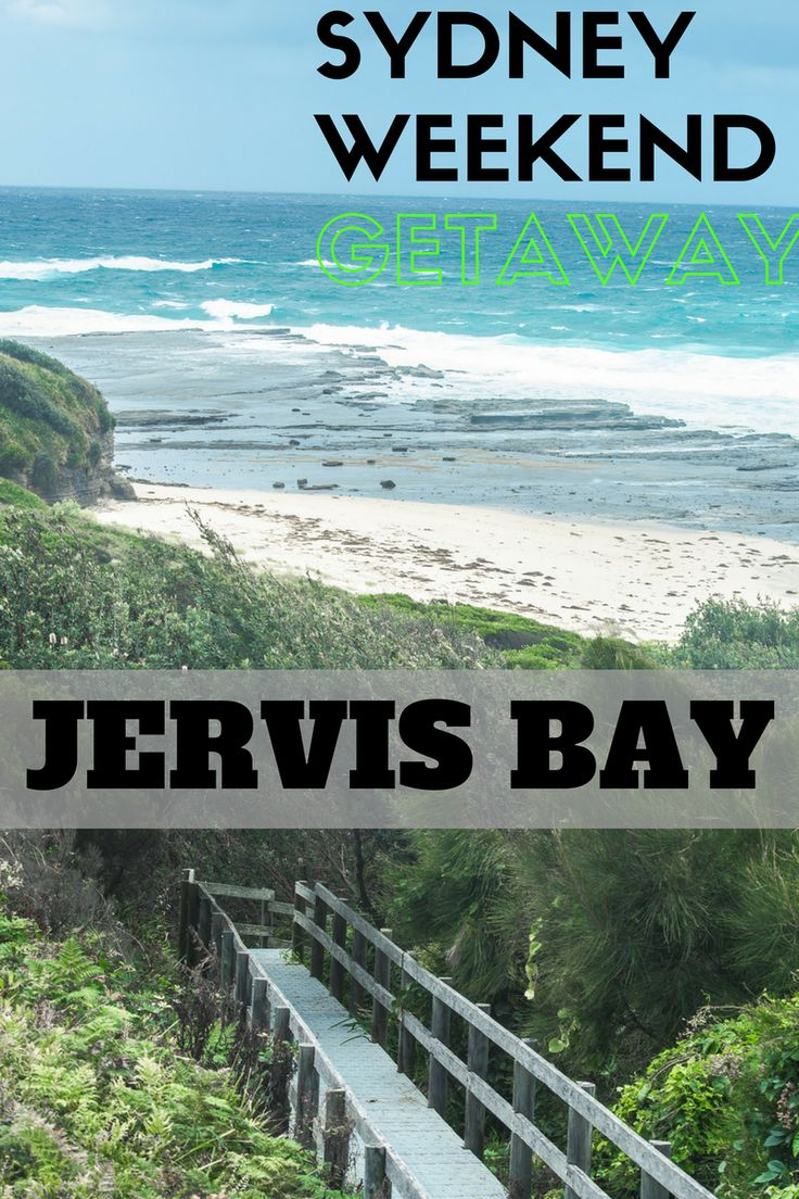 Jervis Bay National Park is the ideal Sydney weekend getaway!