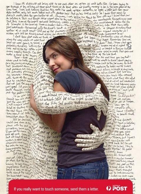CRESCENDO :: [포스트 광고] 편지쓰기 광고 (밍)