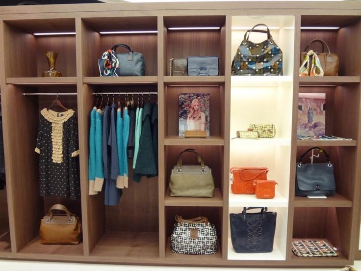 Visual Merchandising shelving in store