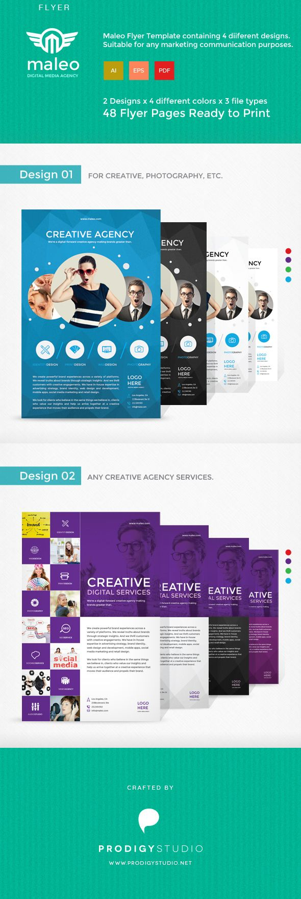Maleo is unique and creative flyer with flexible features give you choices for any kind communication needs.  Download here: http://graphicriver.net/item/maleo-flyer-template/7571223?ref=prodigystudio