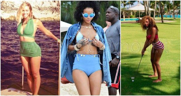 Il bikini preferito dalle celebs? E' a vita alta!