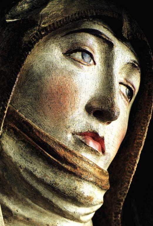 Trauernde Maria: Mainfränkisches Museum Würzburg