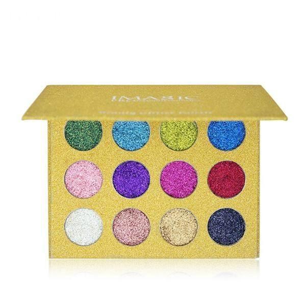 Glitter Eyeshadow Palette #GlitterEyeshadow