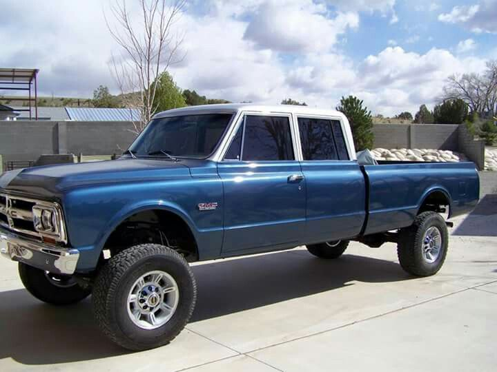 4 dr chevy 6772 chevy truck  Chevy C10 6772 pickup  Pinterest