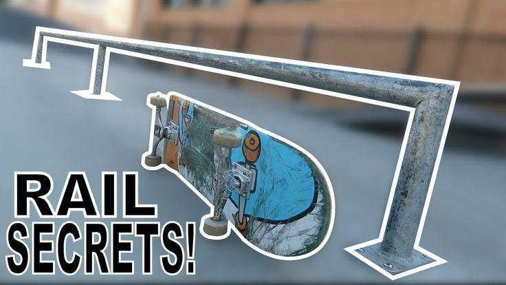 Liked on YouTube: 5 SECRETS TO SKATING RAILS