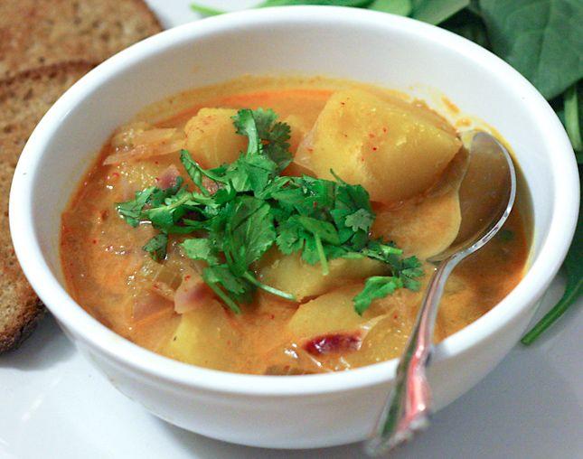 Thai-Spiced Squash Soup