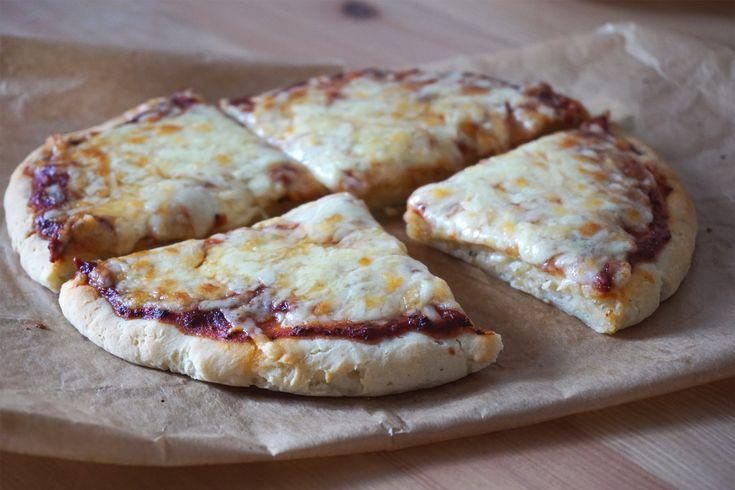 Gluten   Dairy Free Yoghurt Pizza Dough {With