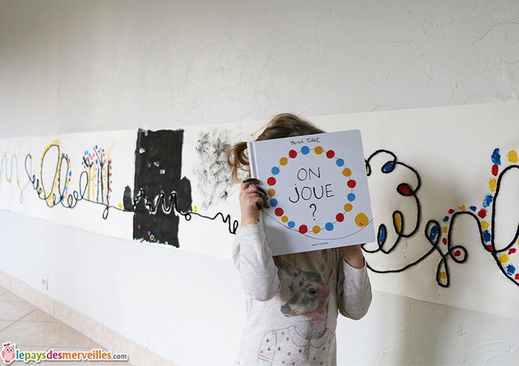 """Nouveauté herve tullet """"On joue ?""""  Exploitation pedagogique et creative  Peinture fresque"""