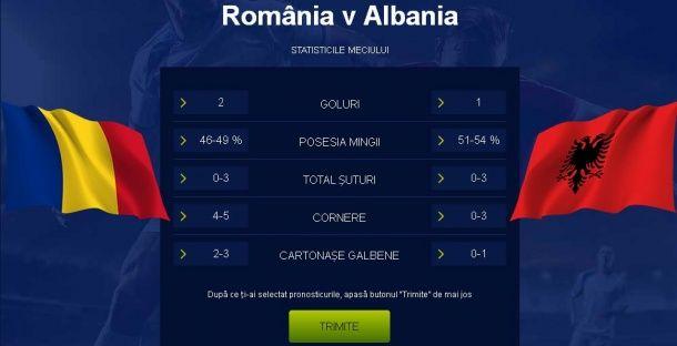 Articole Diverse pe PariuriX.com: România vs Albania, 10 ponturi pariuri pentru un meci de nota 10!