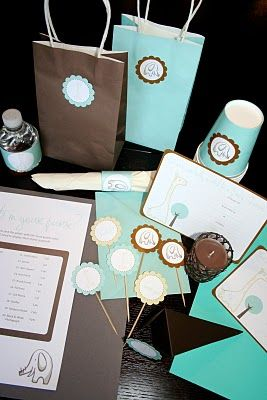Baby Shower: Free Printables