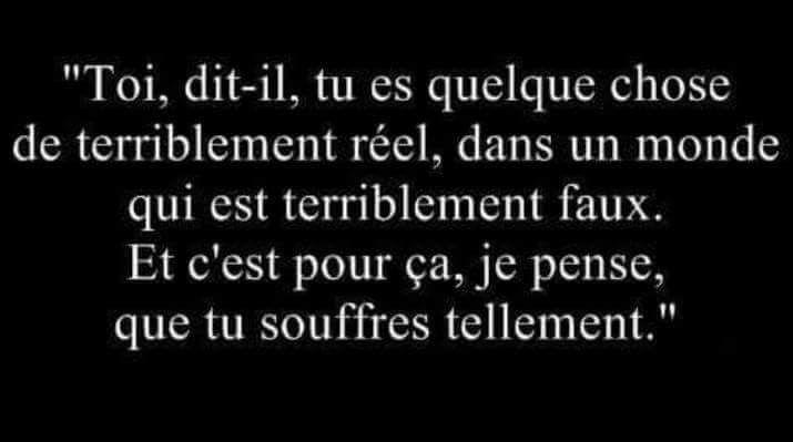 so true, so unfair, so cruel, so painful.....