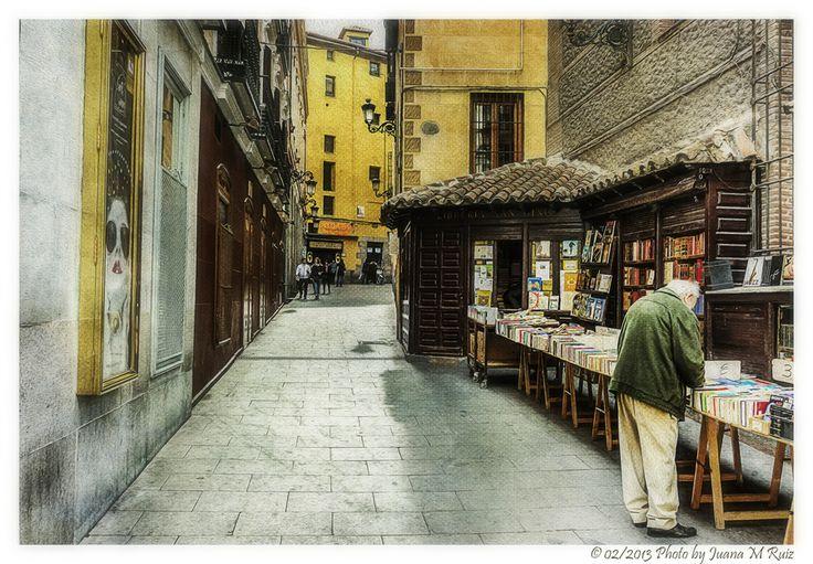 """Librería de """"viejo"""" (Madrid) by Juana Maria Ruiz on 500px"""