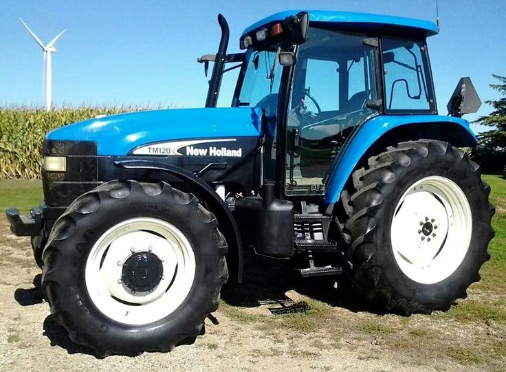 NEW HOLLAND TM120 FWD