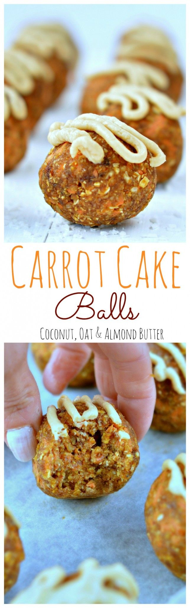 Carrot Cake Ball with Coconut, Almond, Pecan Nuts and Oat [Vegan, Sugar Free and Dairy Free]