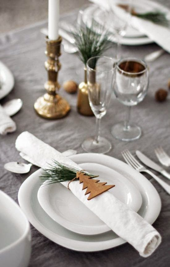 [Inspiration] Ideas decorativas para tu mesa de Navidad | Decorar tu casa es facilisimo.com