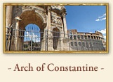 The Arch of Constantine Rome