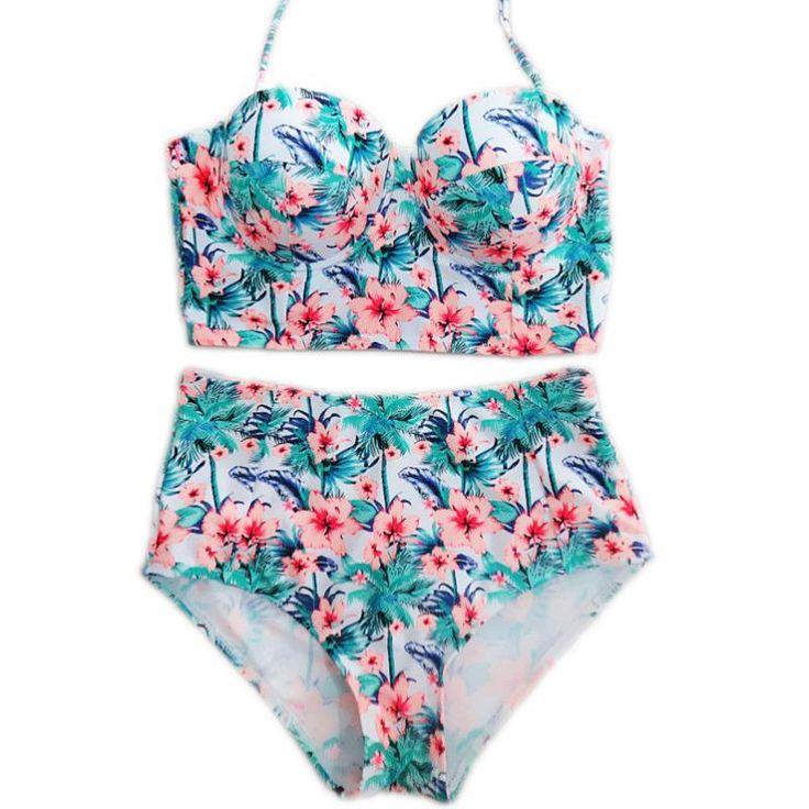 =>Sale on2016 XXL XL Big size Women Bathing Suit Retro Beachwear Two pieces Bikini set Push up High Waist Swimsuit Plus Size Swimwear2016 XXL XL Big size Women Bathing Suit Retro Beachwear Two pieces Bikini set Push up High Waist Swimsuit Plus Size SwimwearCheap Price Guarantee...Cleck Hot Deals >>> http://id354276091.cloudns.ditchyourip.com/32672462028.html images
