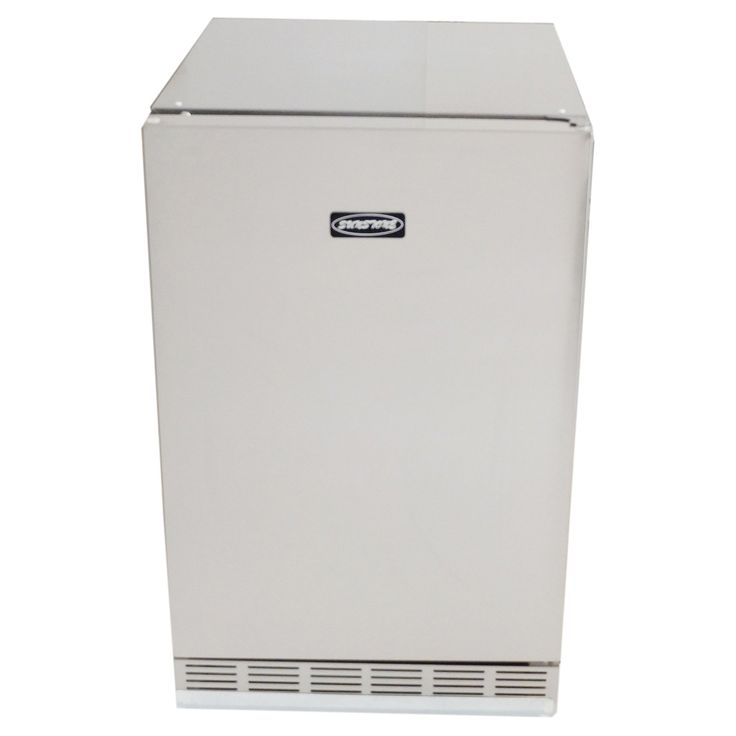 Sunstone Grills Outdoor Refrigerator - Keep steaks, sides, drinks, and ice perfectly chilled next to or in your outdoor kitchen island with the Sunstone Grills Outdoor Refrigera...