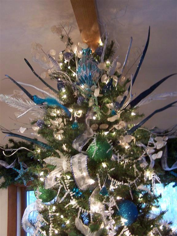 Fleur De Lis Christmas Tree Topper