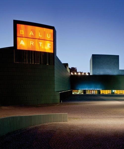 Palacio de Congresos Baluartem, de Fco. Mangado. Carpinteria de Blasco Construcciones en Madera, de Alicante. #pamplona