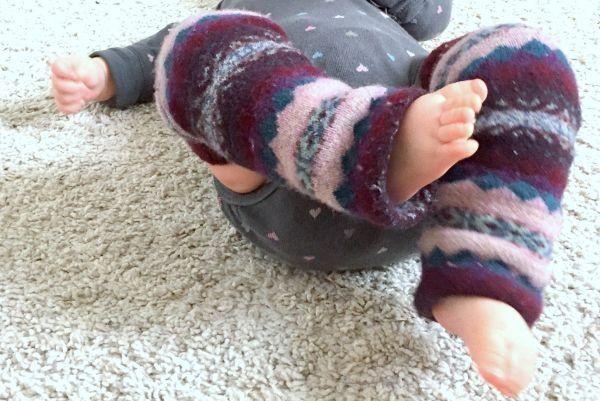 Kisbaba combfix varrás zokniból - Masni